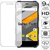 Guran® Schermo Protector Vetro Temperato per NOMU S10 Smartphone Ultra Sottile Screen Protector Film