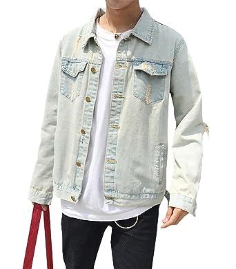 Jeansjacke herren beige