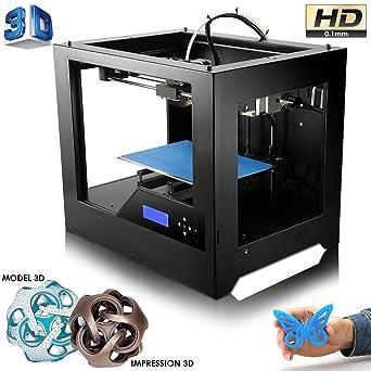 Impresora 3D de alta precisión en metal, diseño de plástico PLA ...