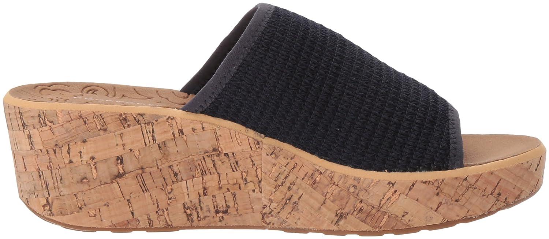 Rockport Women's Lanea Woven Slide Sandal B073ZSQHJL 9.5 B(M) US|Navy Woven