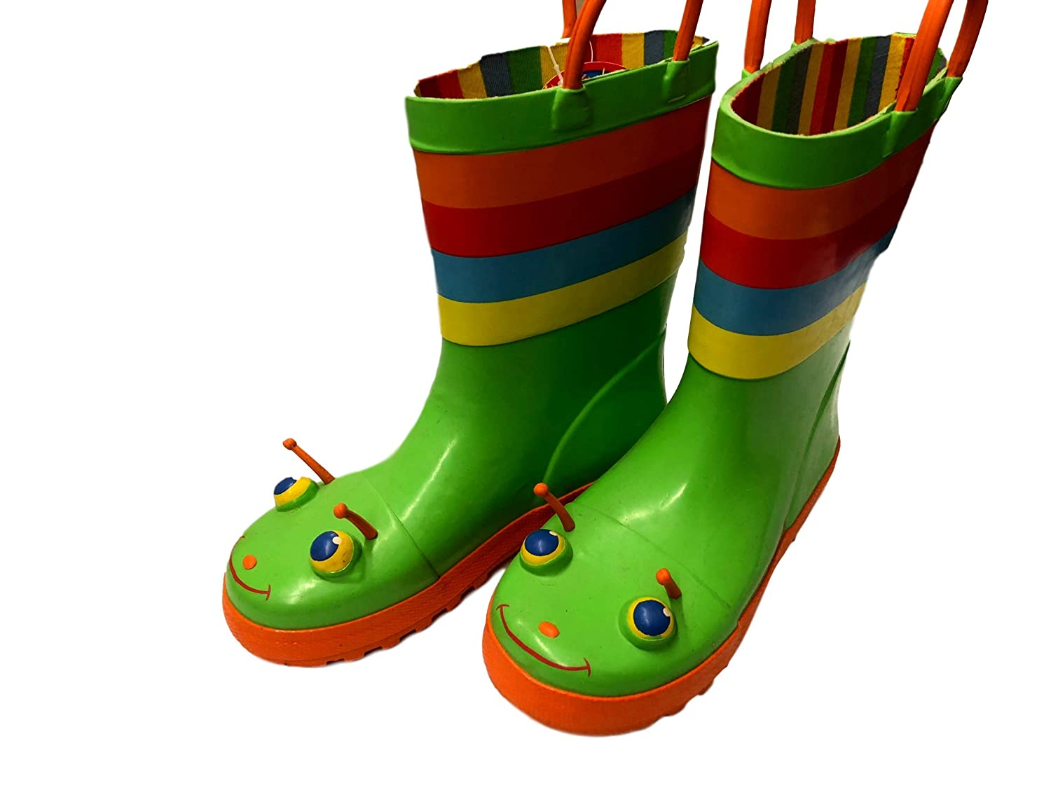 Sunny Patch Happy Giddy Girls Rain Boots Green