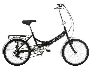 Mizani City+ - Bicicleta urbana plegable negro negro