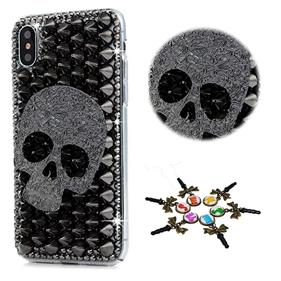 iphone xs max skull case