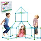 Obuby Kids Construction Fort Building Kit 120 Pieces Ultimate Forts Builder Gift Build Making Kits Toys for Boys and…