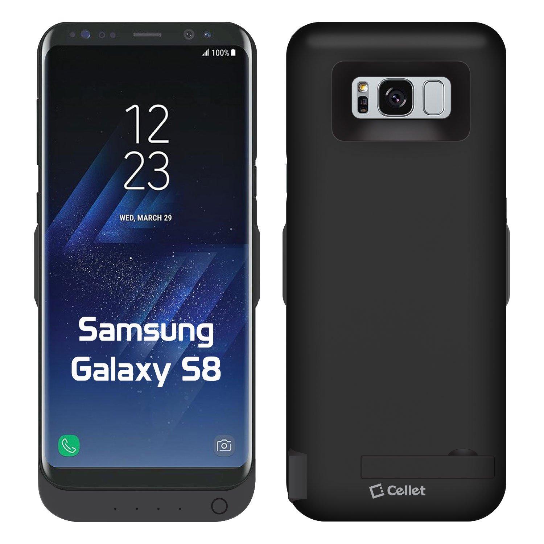 Funda Con Bateria de 5500mah para Samsung Galaxy S8 CELLET [77FFFMDR]