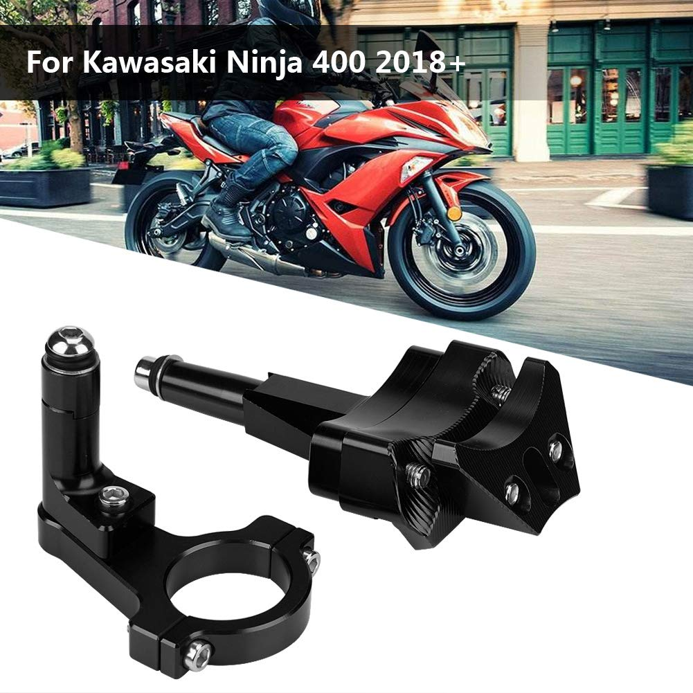 Amazon.com: KIMISS Motorcycle CNC Steering Damper Bracket ...