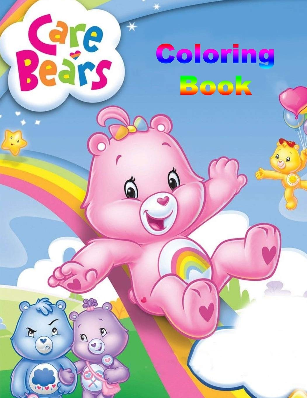 Buy Care Bears Coloring Book: Coloring Book For Kids And Adults