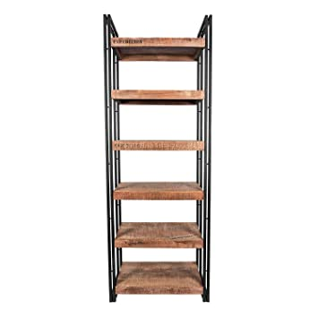 Homescapes Columbus Tall Bookshelf Or Display Unit