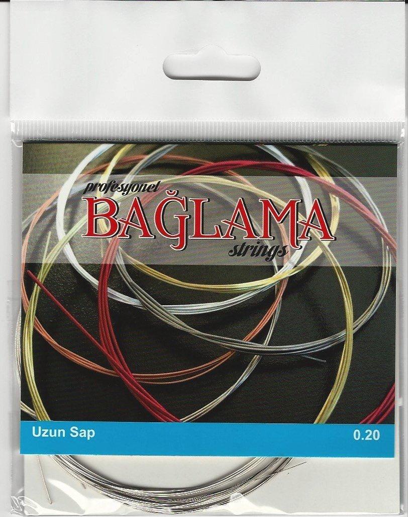5 Package Long Neck Turkish Baglama Saz Strings TRL-101