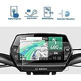[2 pezzi] LFOTPP Pellicola Protettiva per Bosch Nyon (E-Bike Display) Vetro Temperato protezione schermo - 9H antigraffio Trasparente