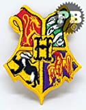 HARRY POTTER NEW COLLECTION Iron Sew on Embroidered Patches (2172 Hogwarts)