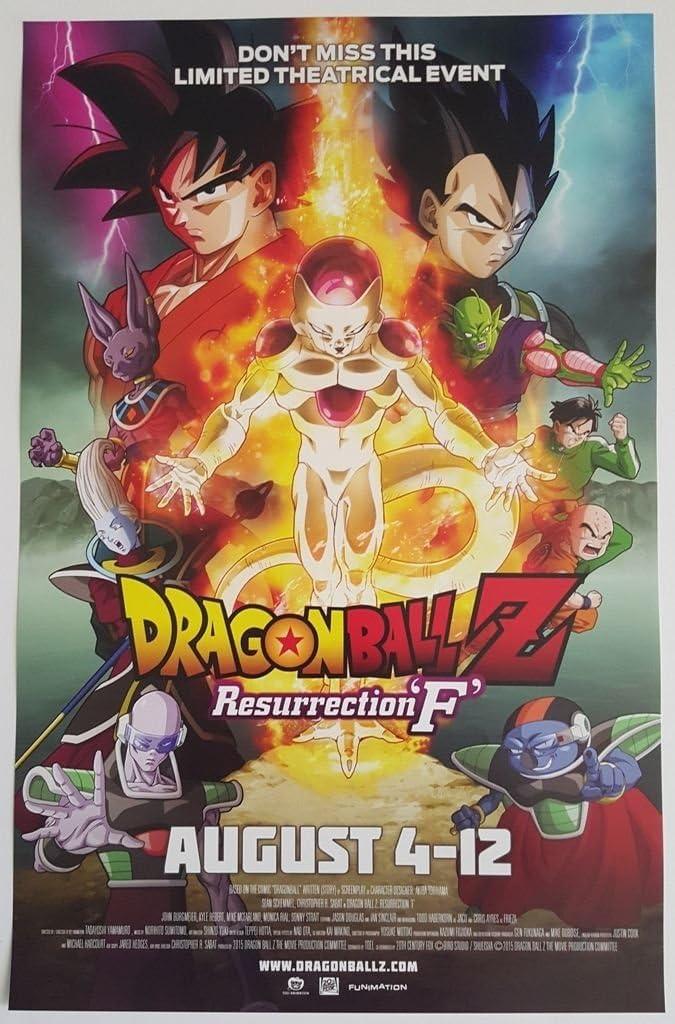 DRAGON BALL Z Japan program pressbook RESURRECTION F 2015 long deleted MINT