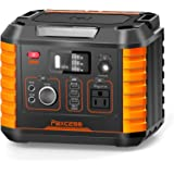 Portable Camping Generator, 330W/78000mAh Portable Power Station, CPAP Battery Power Supply,Solar Generator with110V AC…