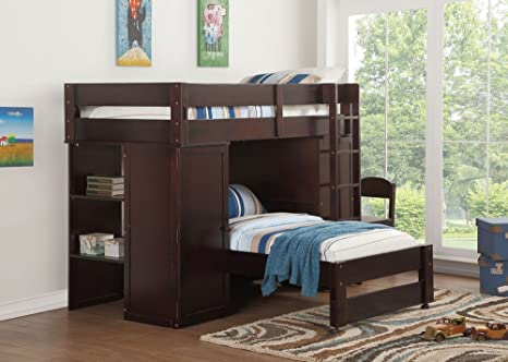 Groovy Amazon Com Acme Furniture Loft Bed Twin Bed Twin Wenge Pdpeps Interior Chair Design Pdpepsorg