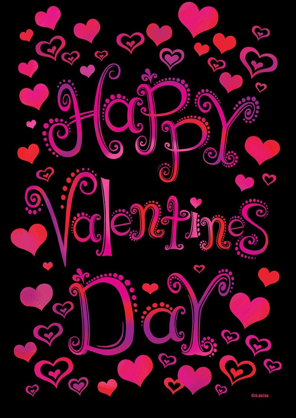 Toland Home Garden 1112286 Valentine Hearts 12.5 x 18 Inch Decorative, (12.5