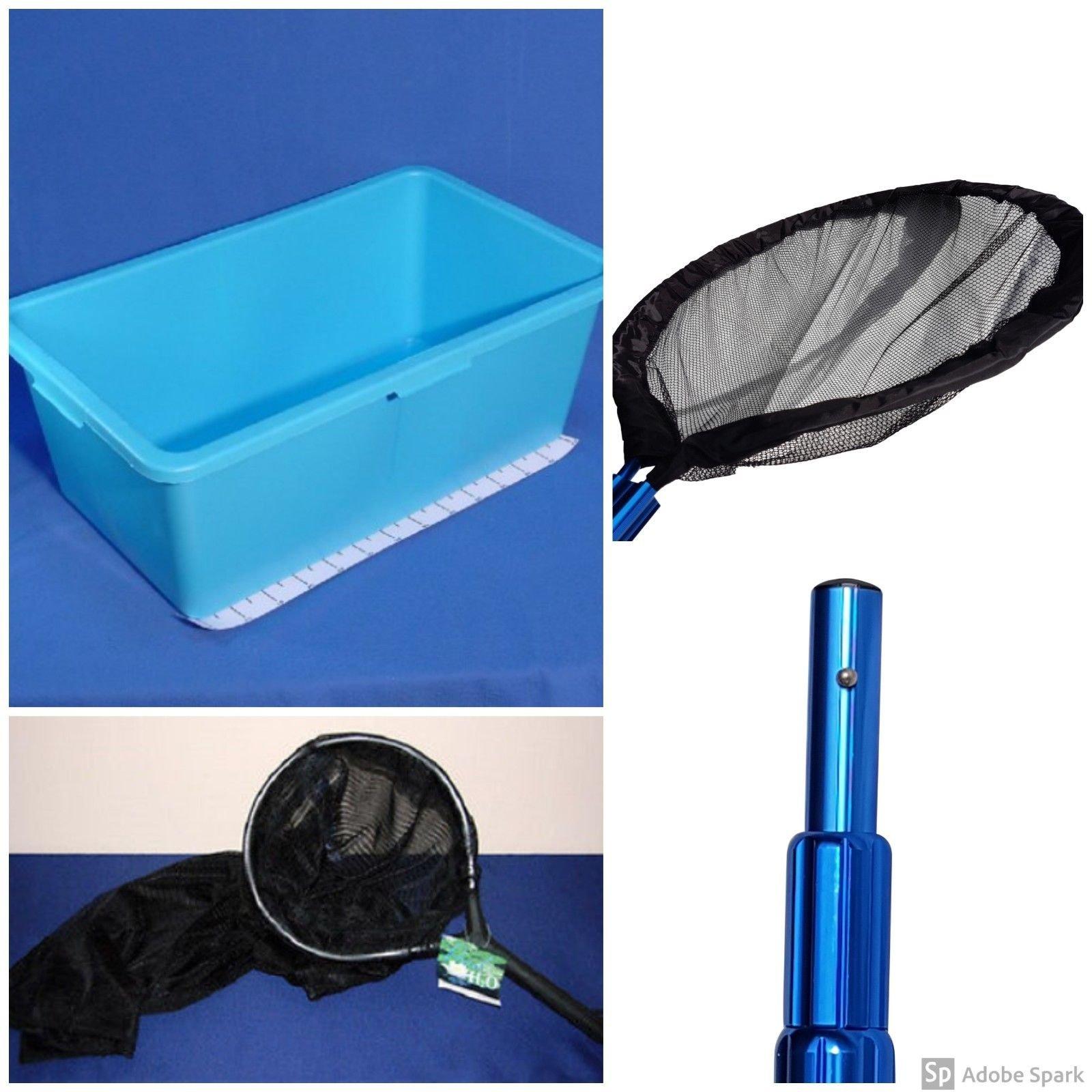 PondH2o Koi Transfer Pack, Includes Heavy Duty Net, Telescopic Pole, Handling Sock & Vat