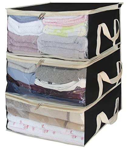 Beau Storage Bag Organizers Under Bed Clothes Storage Containers For Clothing,  Blanket, Comforter In Bedroom