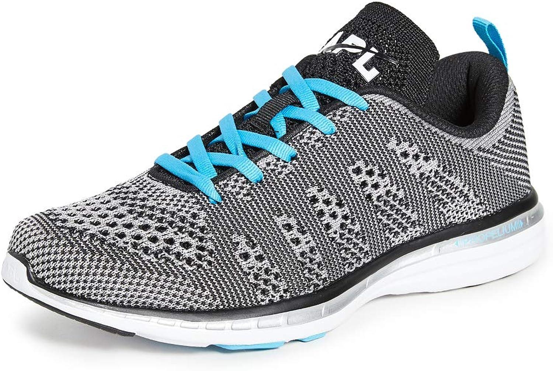 Techloom Pro Sneakers, Metallic Silver