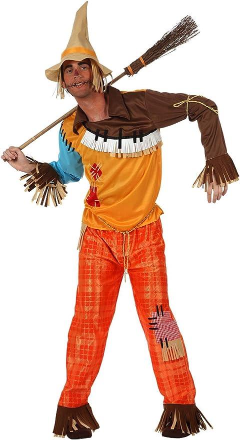 Atosa - Disfraz de espantapájaros adultos, talla L: Amazon.es ...