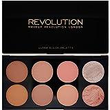 Makeup Revolution Ultra Blush Contour Palette, Hot Spice