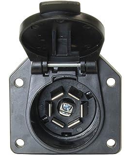com hopkins pole rv blade trailer connector hopkins 48485 7 pole rv blade vehicle connector