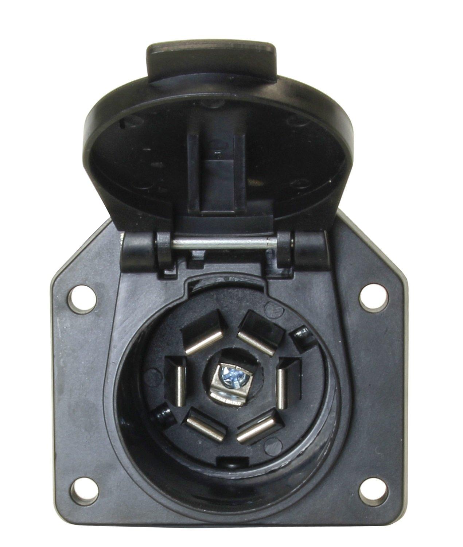 Hopkins 48485 7 Pole Rv Blade Vehicle Connector Automotive Trailer Wiring Diagram