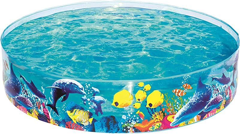 Bestway 55030 - Piscina Infantil Fill N Fun 183 cm Animales Marinos: Amazon.es: Jardín