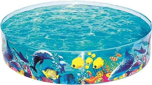 Bestway 55030 - Piscina Infantil Fill N Fun 183 cm Animales ...