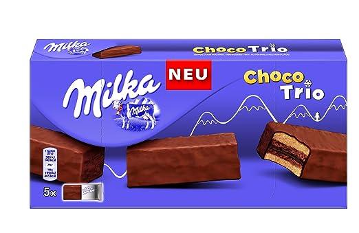 Milka Choco Trio Kuchen 150 G 6er Pack 6 X 150 G Amazon De