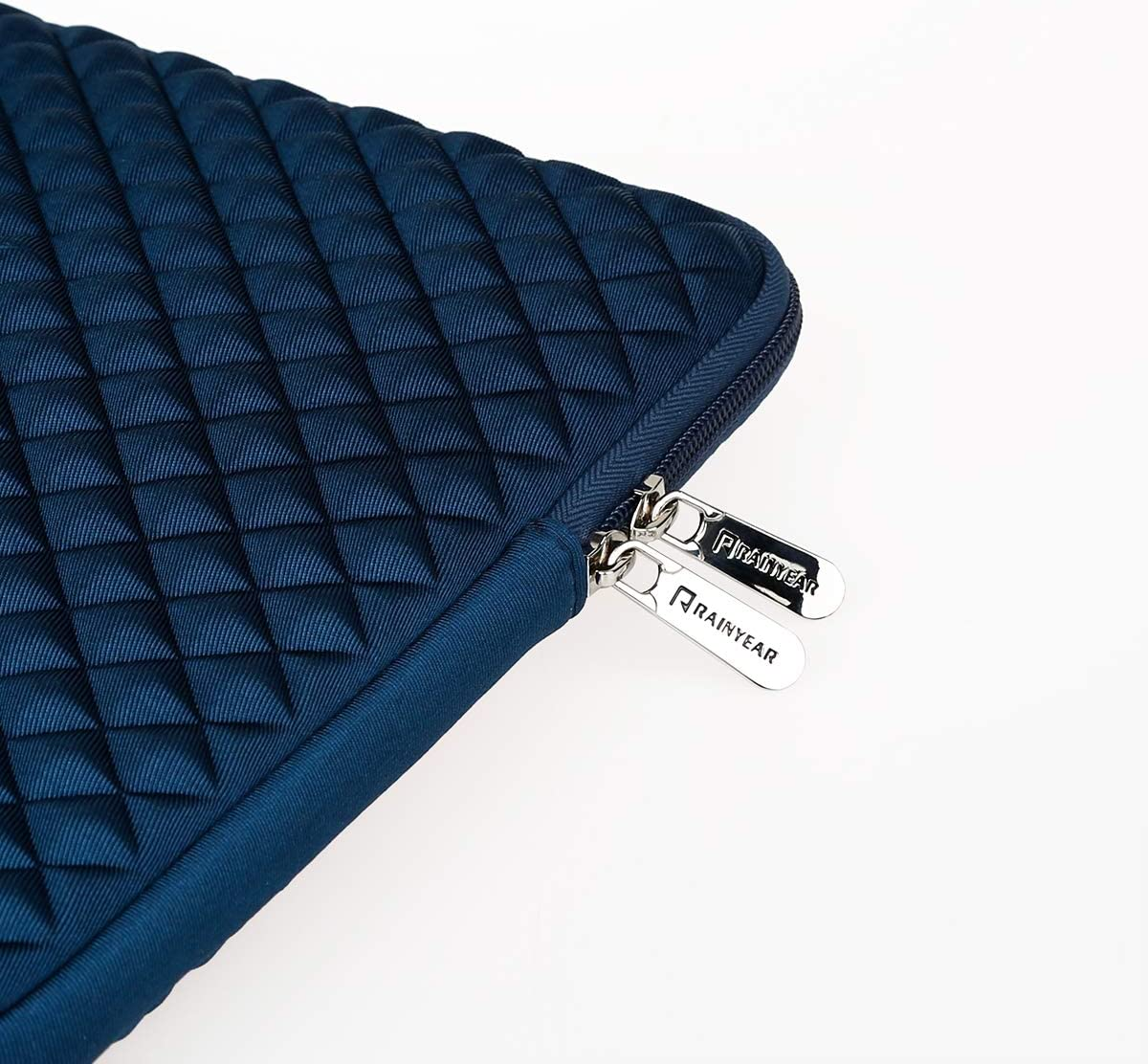 Navy Blue RAINYEAR 13 Inch Laptop Sleeve Diamond Foam Water/&Shock Resistant Case Cover Bag Compatible 13.3 Macbook Air Pro 13.5 Surface Laptop 13 Notebook Chromebook for Dell HP Lenovo Thinkpad Asus