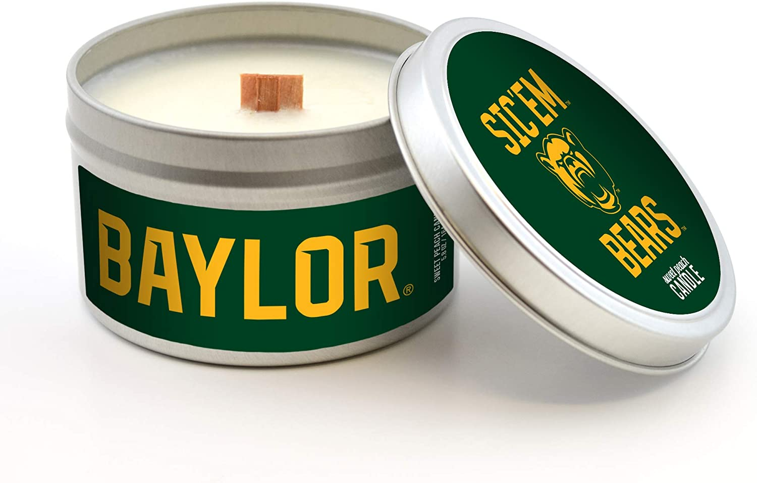 Worthy Promo NCAA Unisex-Adult Scented Candle Travel Tin