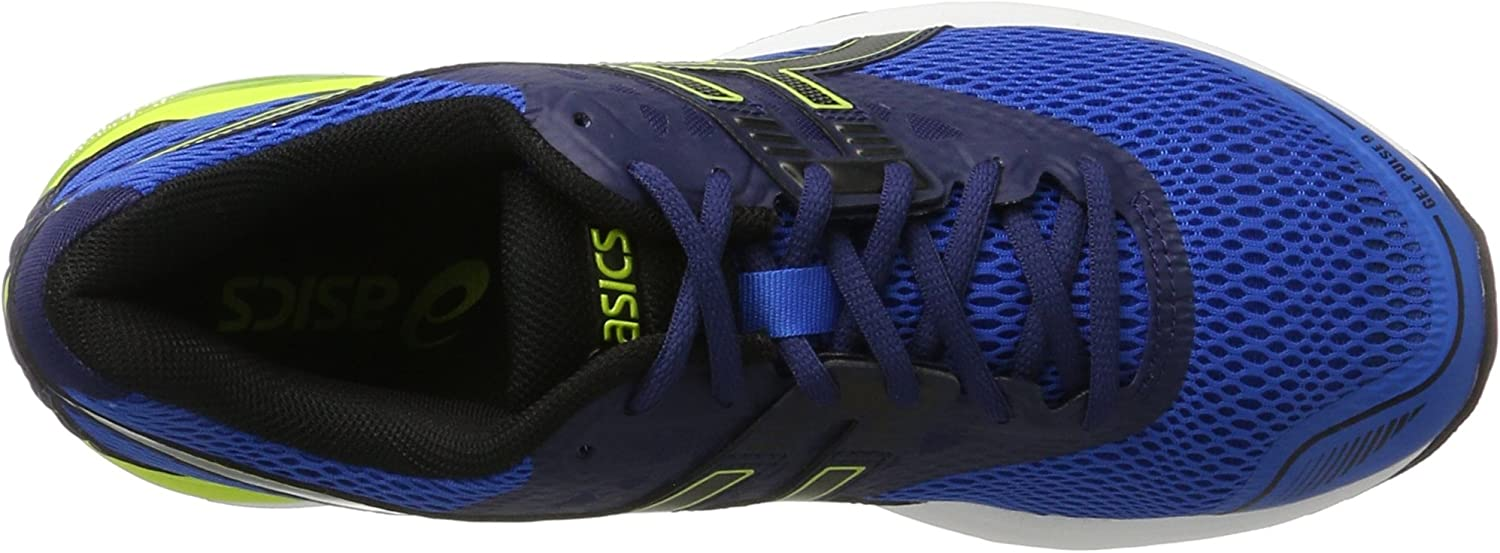 Asics Gel Pulse 9 EU 42 Dark Blue Shocking Orange Vict EU 42