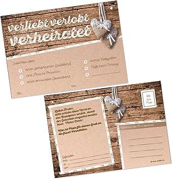 Extra leicht f/ür langen Flug Gelocht Wolke 7 Design Ballonflugkarten f/ür Hochzeit WeddingTree 50 Ballonkarten Hochzeit Vintage