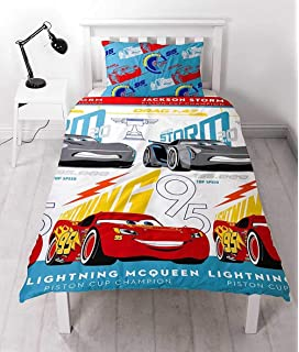 DISNEY CARS PISTON DUVET COVERS AVAILABLE IN SINGLE JUNIOR /& CURTAINS DOUBLE