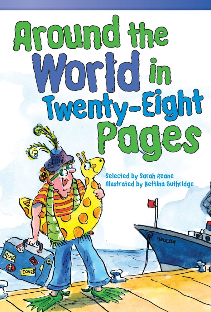 Read Online Around the World in Twenty-Eight Pages (Fiction Readers) pdf
