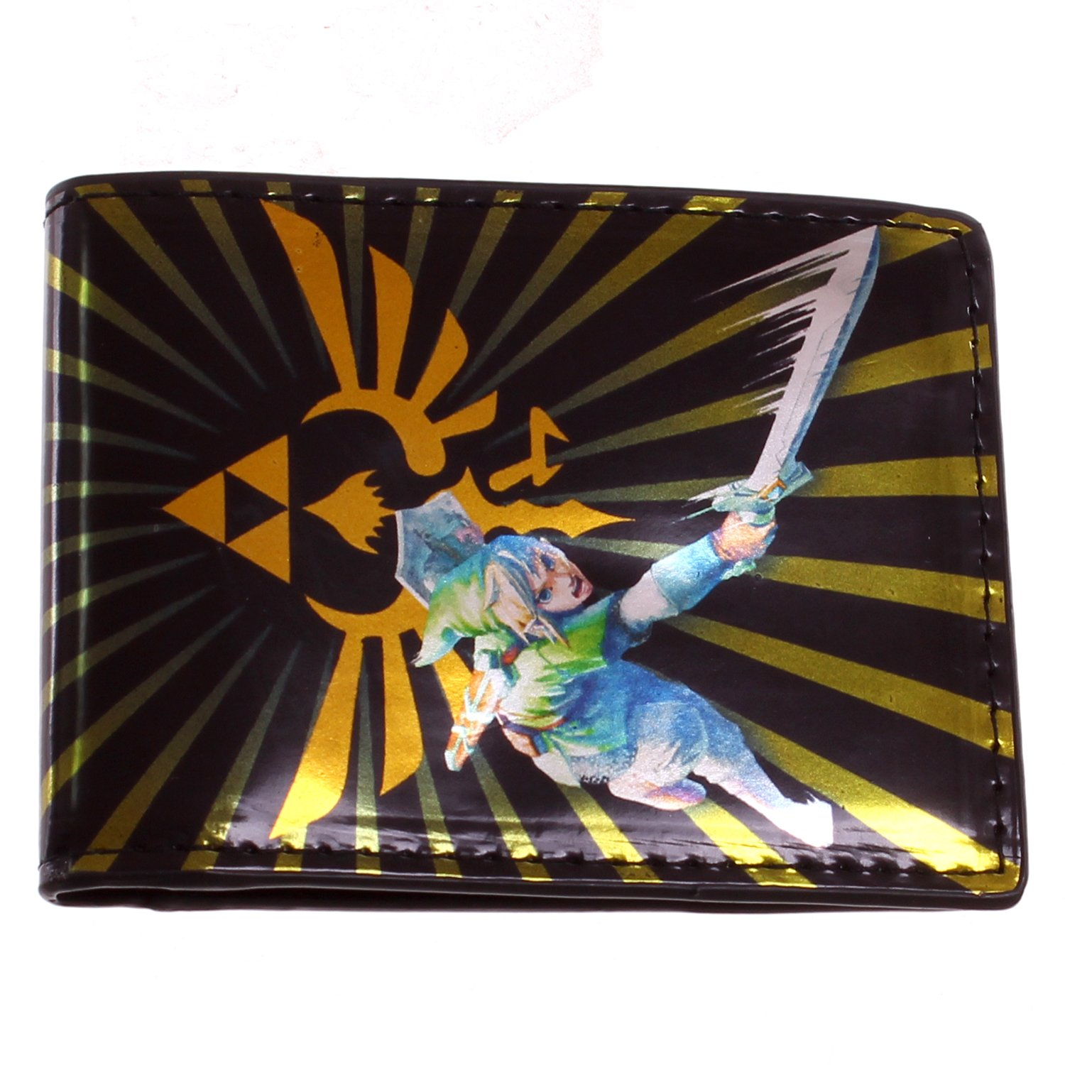Legend of Zelda Link Burst Bifold Wallet Bioworld