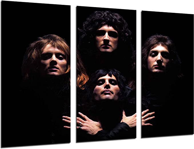 Poster Queen Freddie Mercury Rock Bohemian Rhapsody