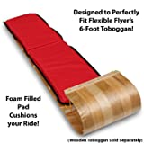 Flexible Flyer Toboggan Pad. Sled Cushion