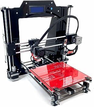 REPRAPGURU DIY RepRap Prusa I3 V2 Black 3D Printer Kit