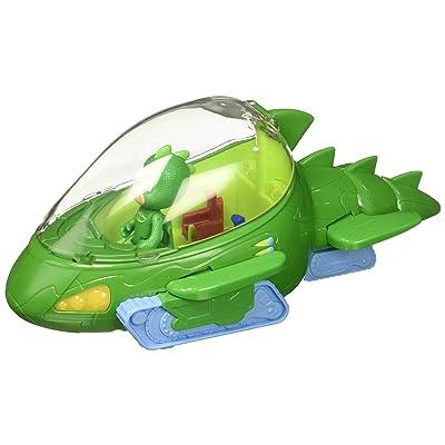 PJ Masks Deluxe Gekko-Mobile & Gekko Figure, Green: Toys & Games