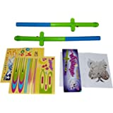 Flying Toy Wand. Christmas Flying Toy For Kids, Magic Wand Levitation Stick with Flying Toy Shapes - Set of 2. Cheap Toys For Fun, Cool Toys For Fun.