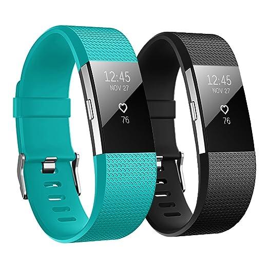 121 opinioni per Hanlesi Fitbit charge 2 Cinturino Morbido Sportivo di Ricambio in TPE, Accessori