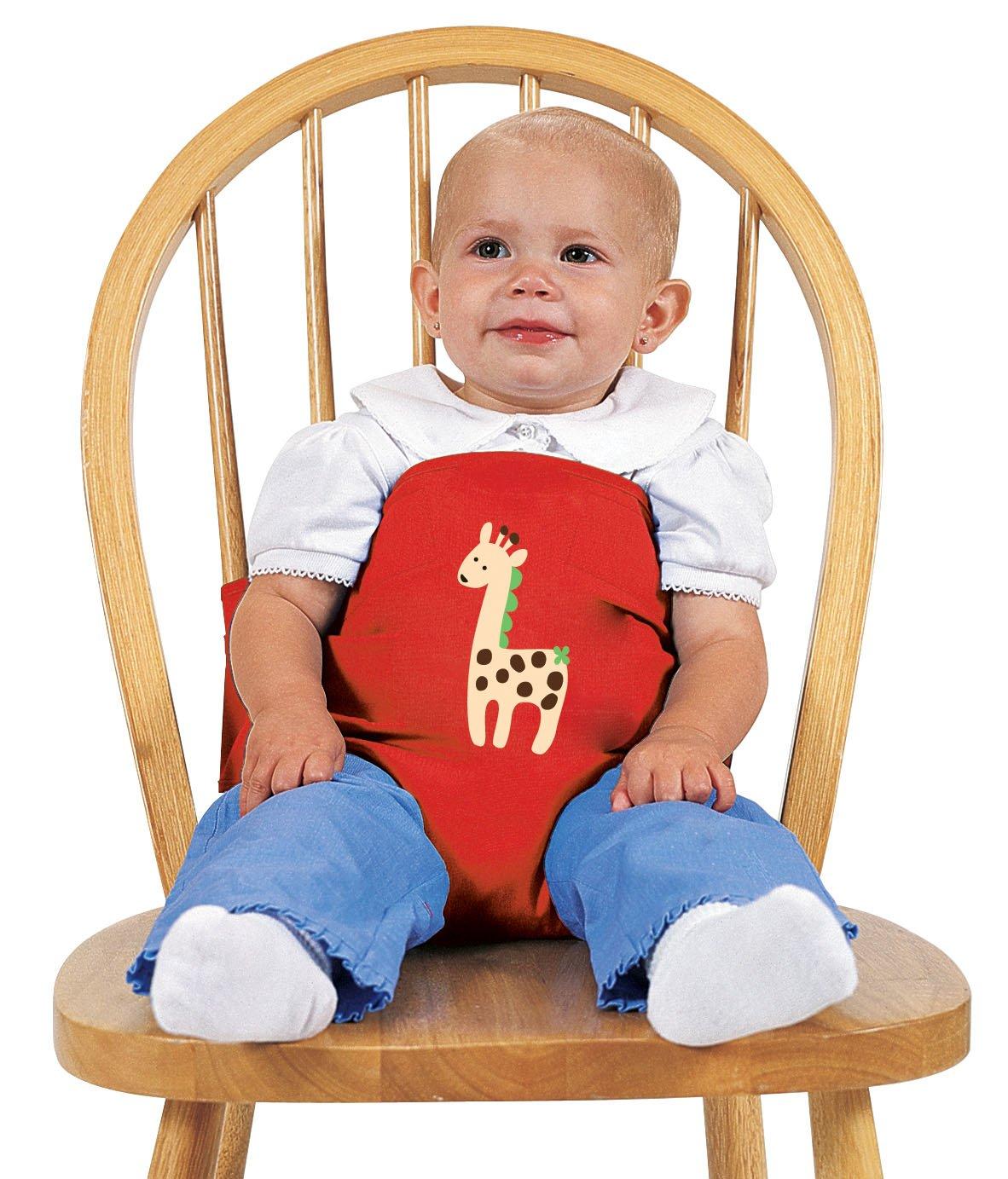 Amazon.com : Leachco Sit \'N Secure Safe Seating Wrap, Red Giraffe ...