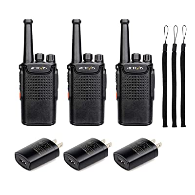 Retevis RT67 Walkie Talkies for Adults Long Range 3000mAh Rechargeable VOX Business Small Two Way Radio with LED Flashlight(3 Pack): Car Electronics