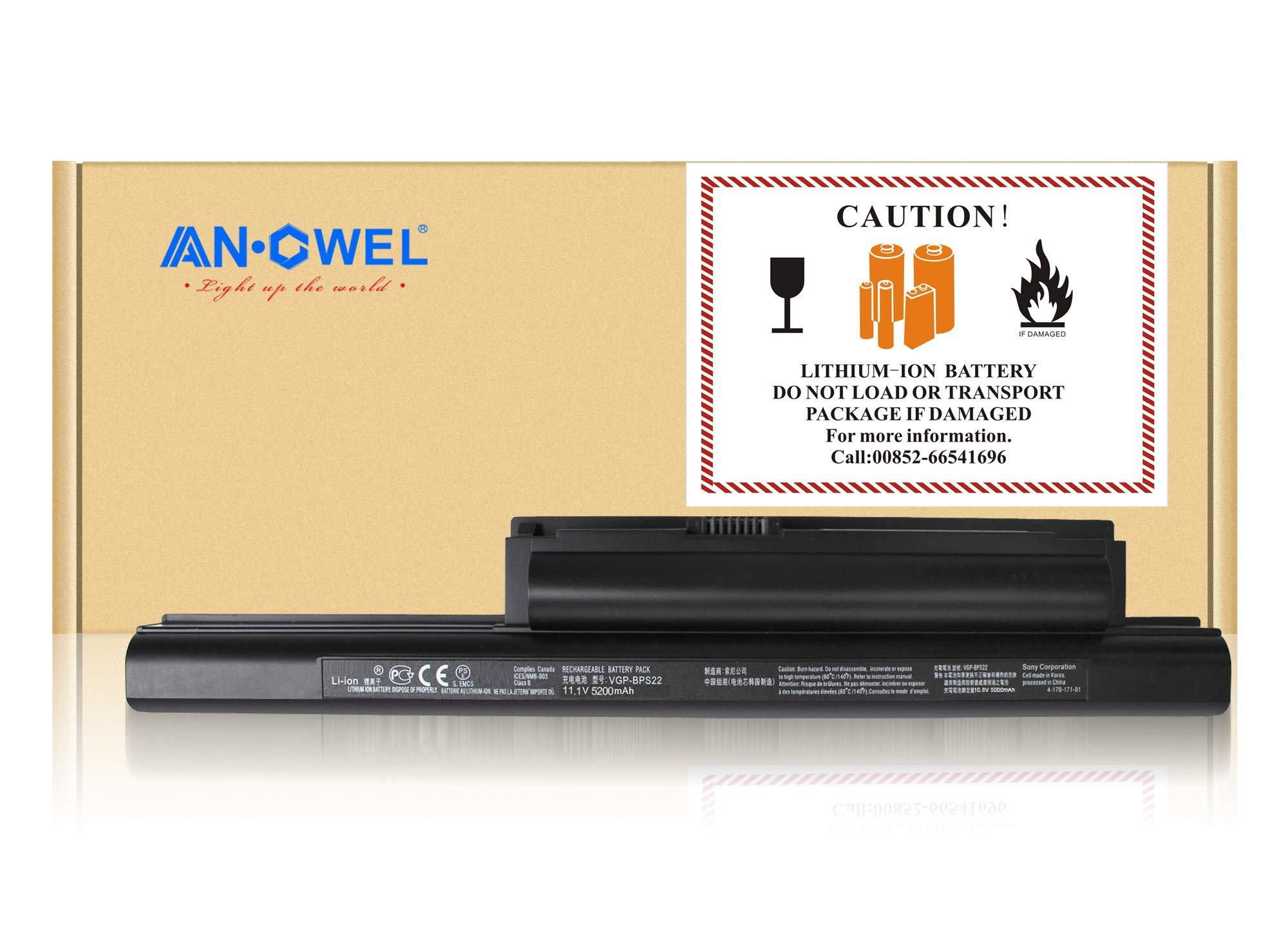 Bateria 10.8v 5000mah Sony Vgp-bps22 With:sony Vaio Vpc-eb18