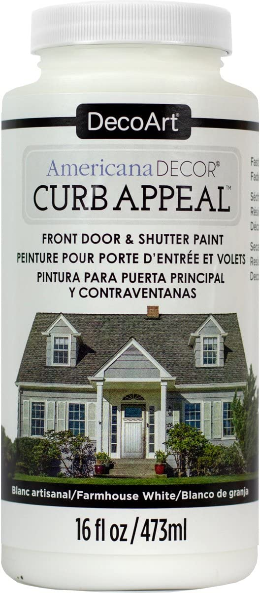 DecoArt Americana Decor Curb Appeal 16oz Frmhuswht CurbAppeal16oz