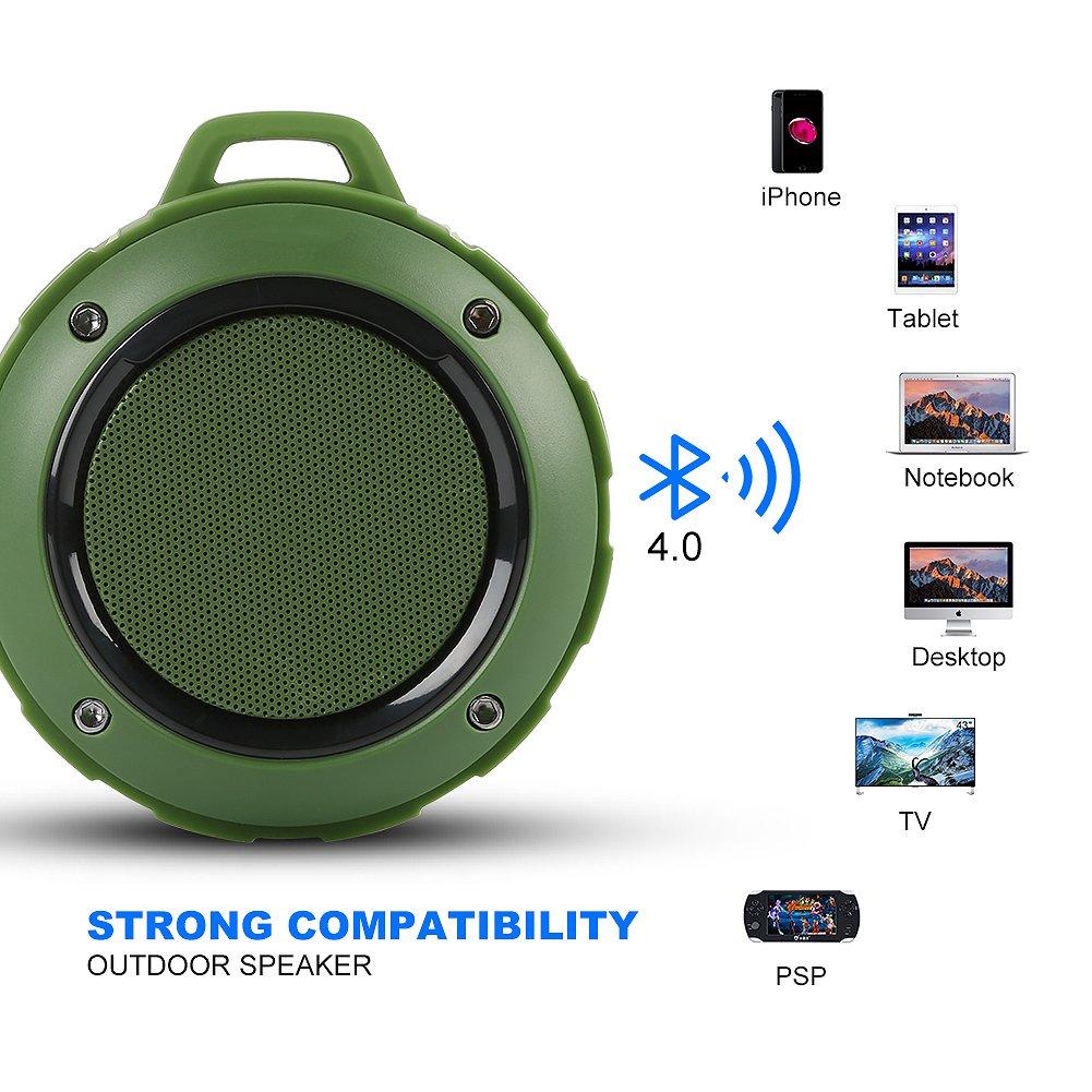 SchöN Wasserdichte Bluetooth Lautsprecher Dusche Mini Tragbaren Drahtlosen Stereo-lautsprecher Mit Mic Saug Auto Freisprecheinrichtung Für Smartphone Iphone Feine Verarbeitung Tragbare Lautsprecher