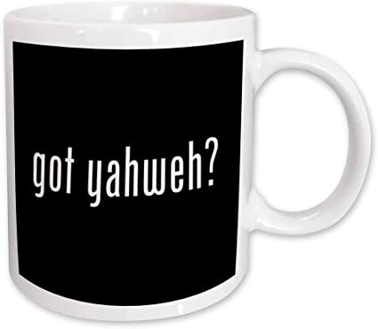 Amazon Com 3drose Got Yahweh Mug 11 Ounce Kitchen Dining