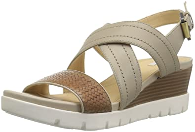 Geox Women s Mary Karmen Plus 1 Wedge Sandal  Amazon.co.uk  Shoes   Bags dbdc2a708b6