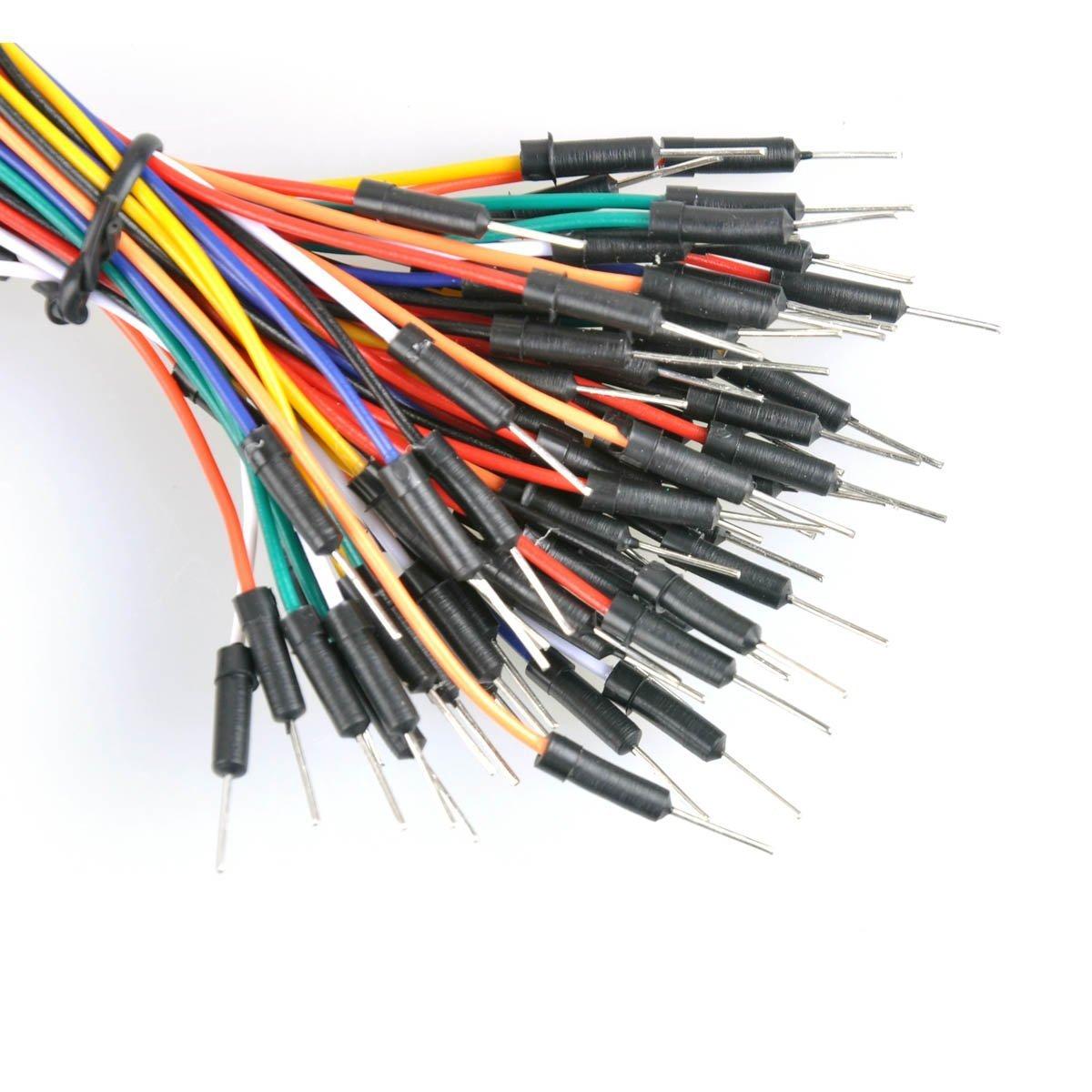 UCEC Lote de 3 paneles de pan de 400 puntos sin soldadura PCB con 3 cables de amarre para Arduino (6 unidades, 3 + 3): Amazon.es: Informática